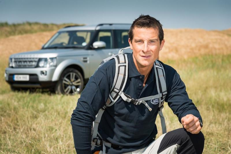 Bear Grylls and Land Rover