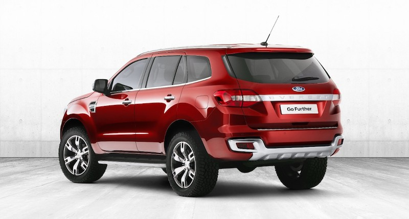 Ford Everest Carhq