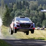 Hyundai Shell World Rally Team Top 6 Finish in Rally Finland
