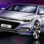 Hyundai all new i20 – First Hints