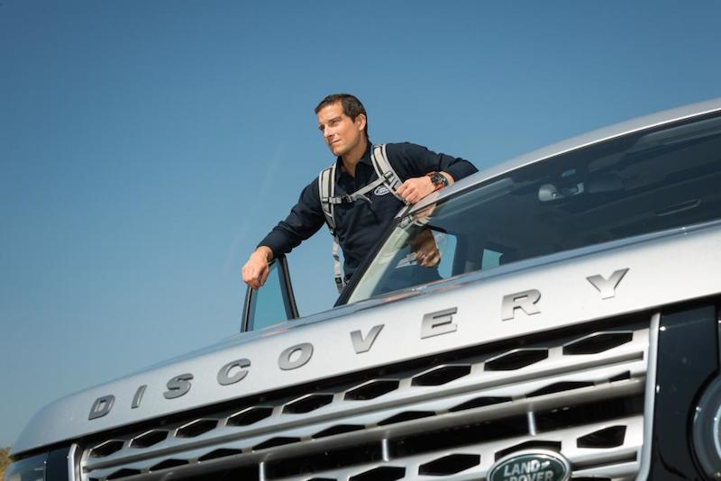 Land Rover and Bear Grylls