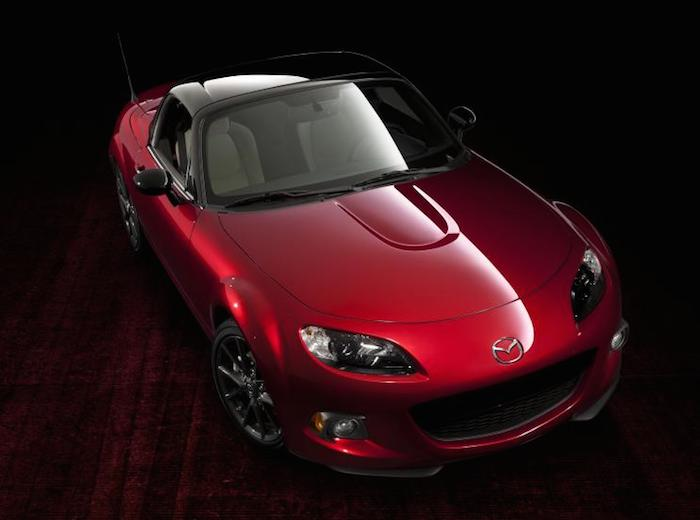Limited Edition 25th Anniversary Mazda MX5 Arrives