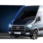 Hyundai H350 cargo van for Europe