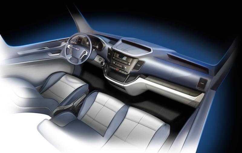 Hyundai H350 Interior