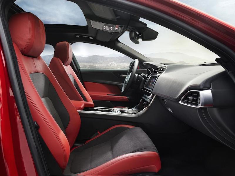 Jaguar XE Front Seats
