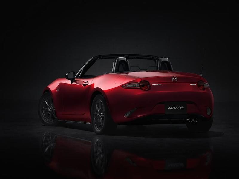Mazda MX5 Rear 2