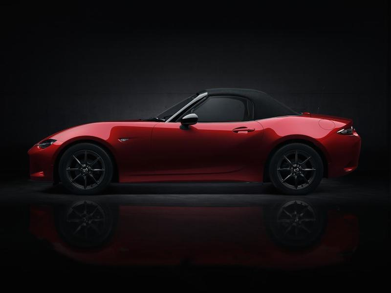 Mazda MX5 roof on
